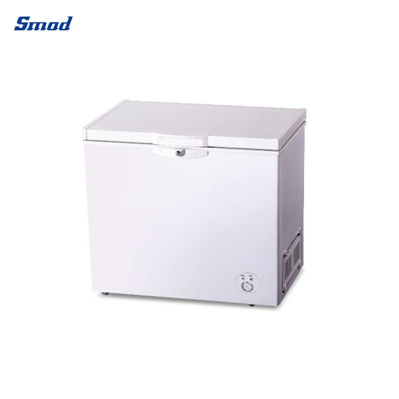 Smad Single Solid Door Chest Freezer for garage