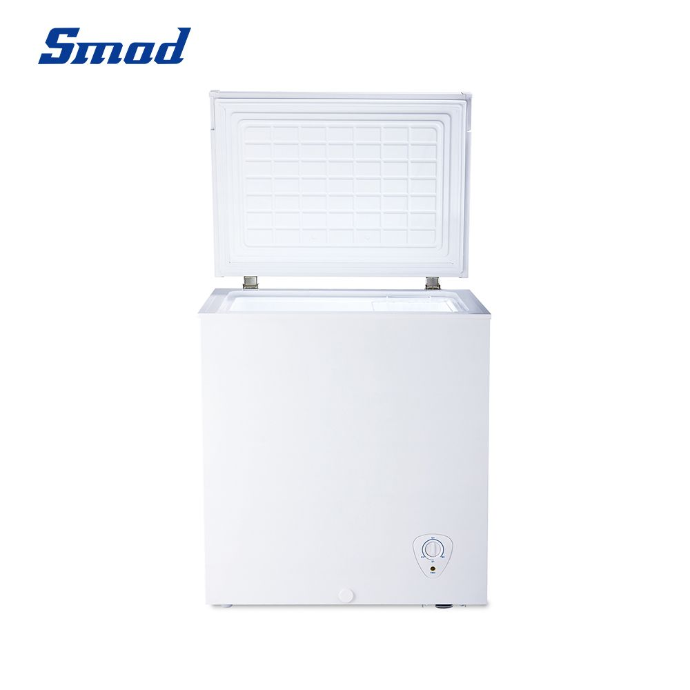 Smad 5 cubic foot chest freezer with D+ quick-freezing system