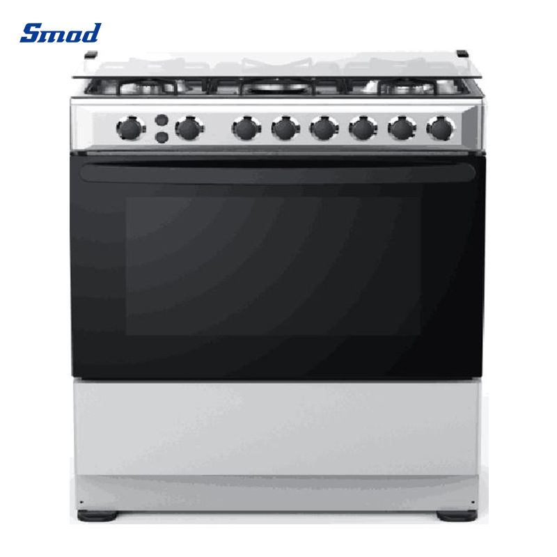 Smad 30 Inch Freestanding Gas Oven With 5 Gas Burners front look