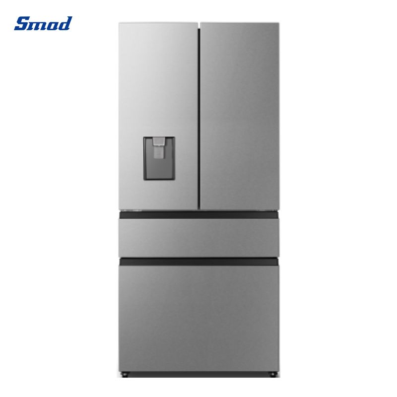Smad 421L french side by side door fridge freezer with water filter