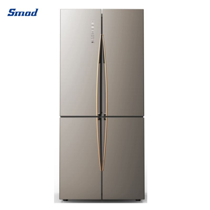 Smad no frost cheap side by side 4 door refrigerator cross four door