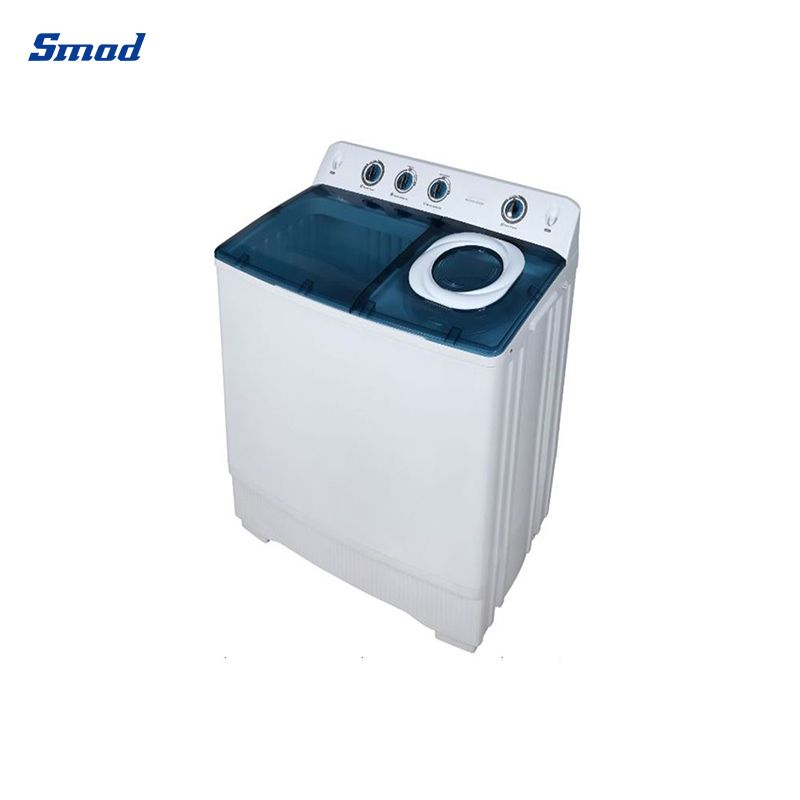 Smad 110V Home Use Top Loading Two Tub Washing Machine appearance