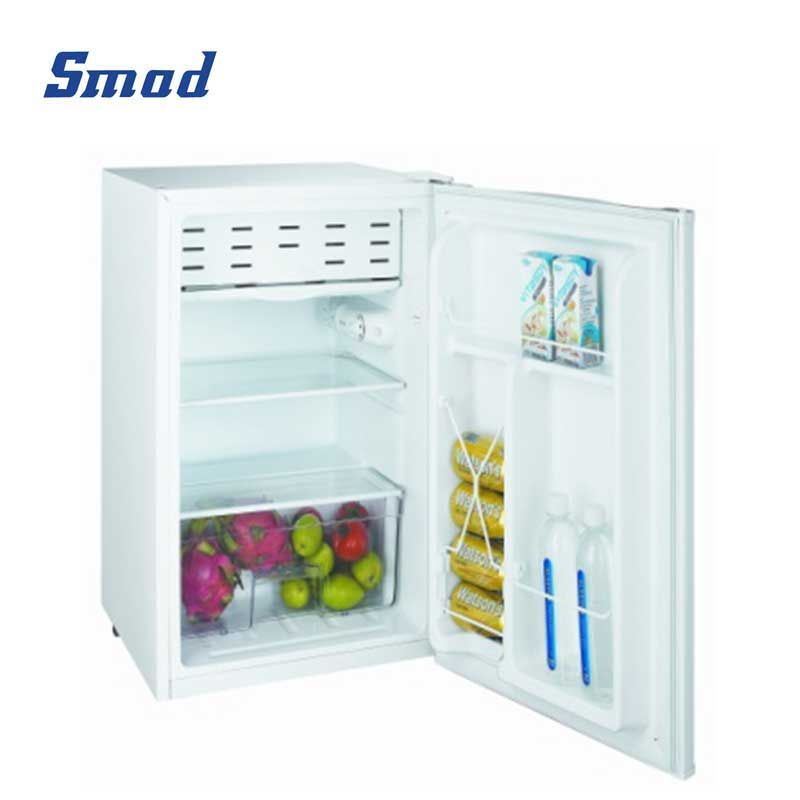 Smad 75L single door mini compact fridge for bedroom and dorm with freezer