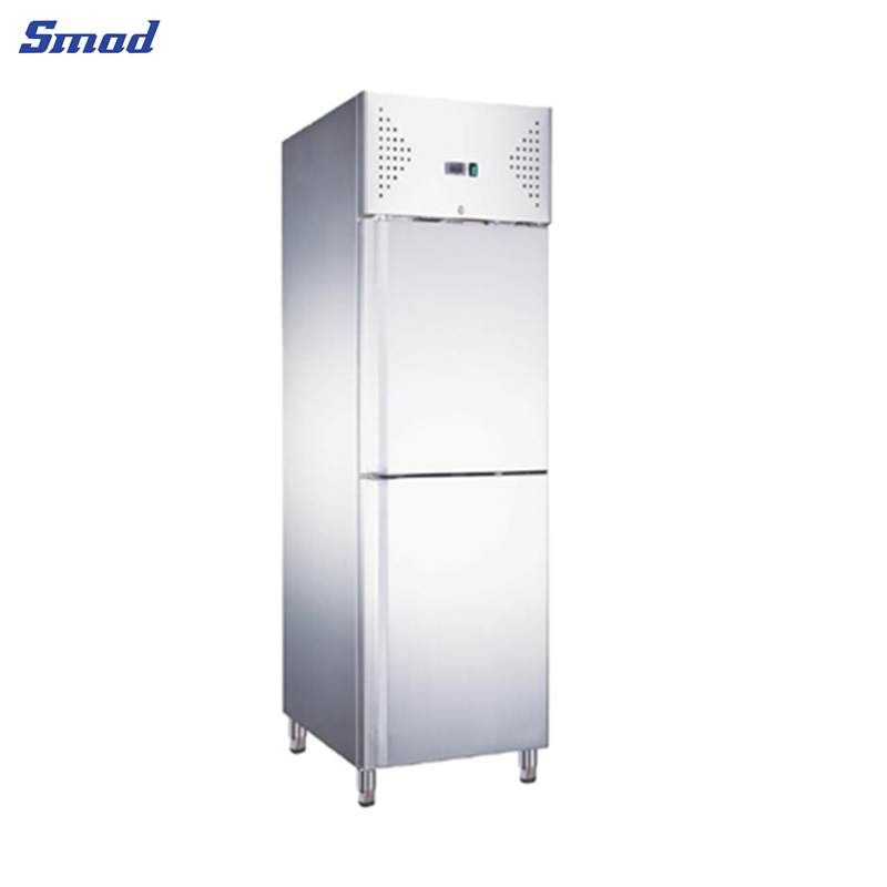 Smad Upright Cabinet Ventilated Fridge Snack Commercial Refrigerator  product view