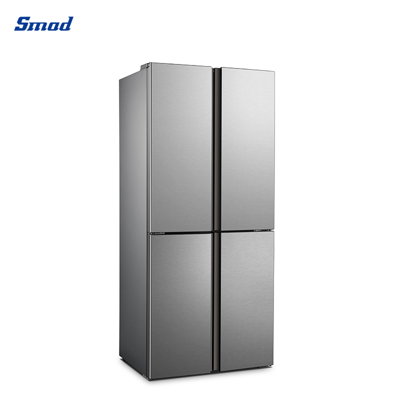 Smad cross 4 door CE electric control no frost refrigerator with Integration design