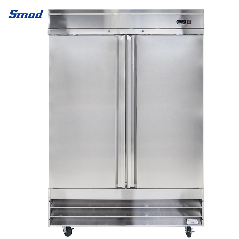 Smad stainless steel refrigeration equipment 110V american style upright refrigerator reach-In freezer