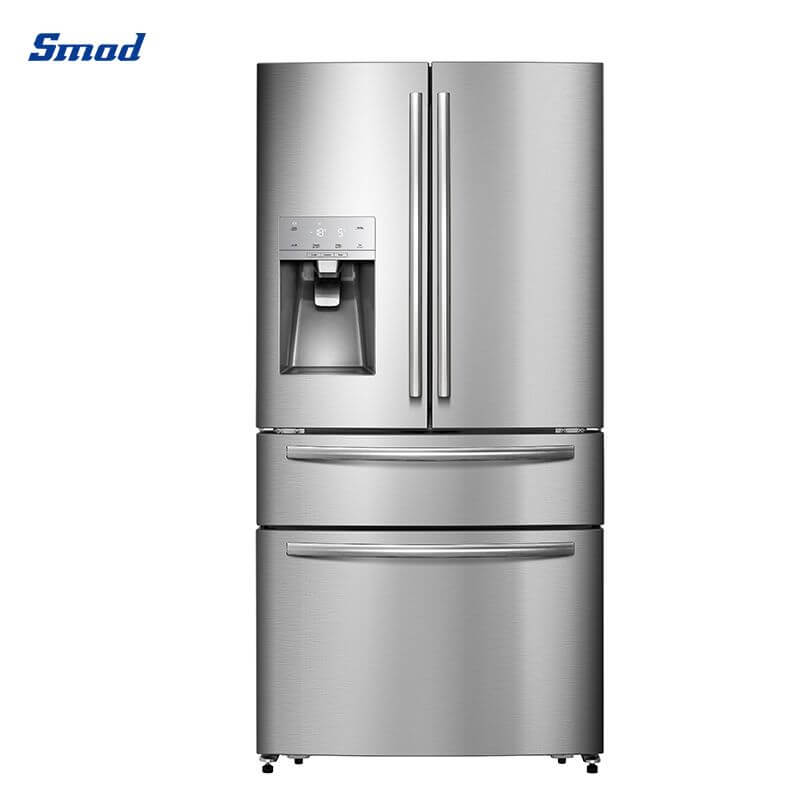 Smad best french door refrigerator with high quality and stainless steel