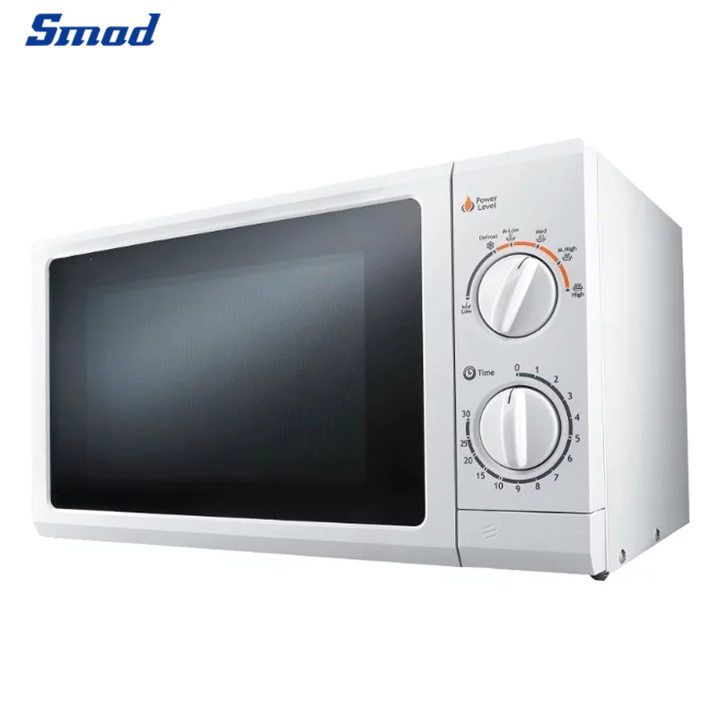 The mechanical knob of best microwave oven controls the time and firepower, and there is a sound reminder at the end