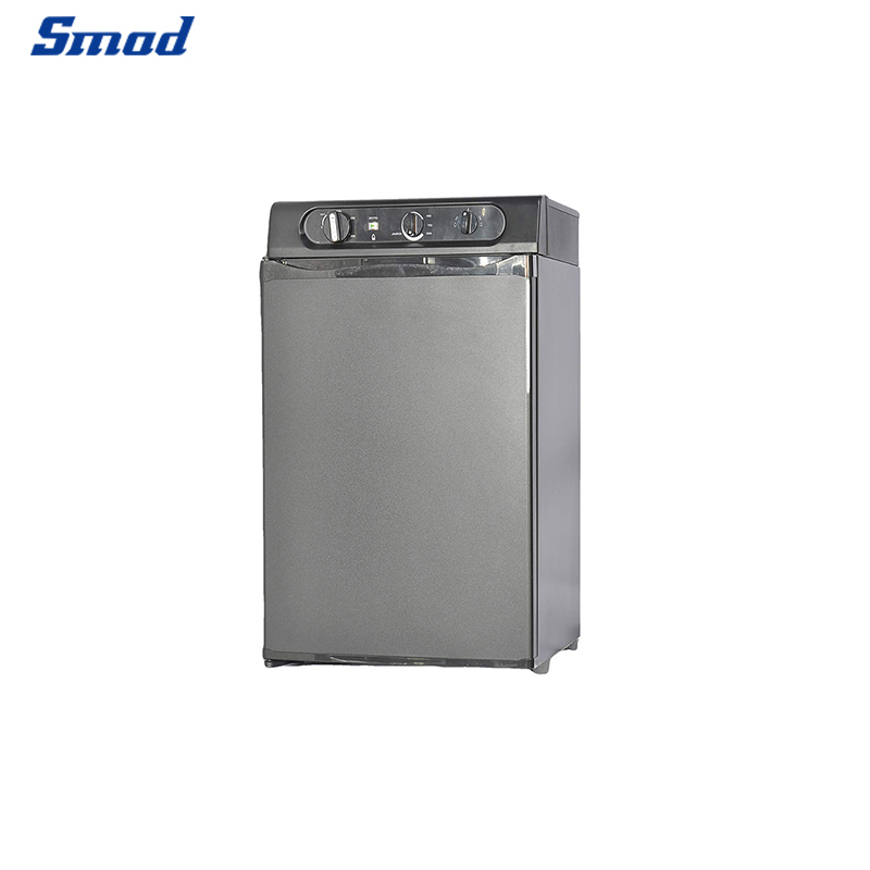 Smad compact mini absorption 53L refrigerator front view