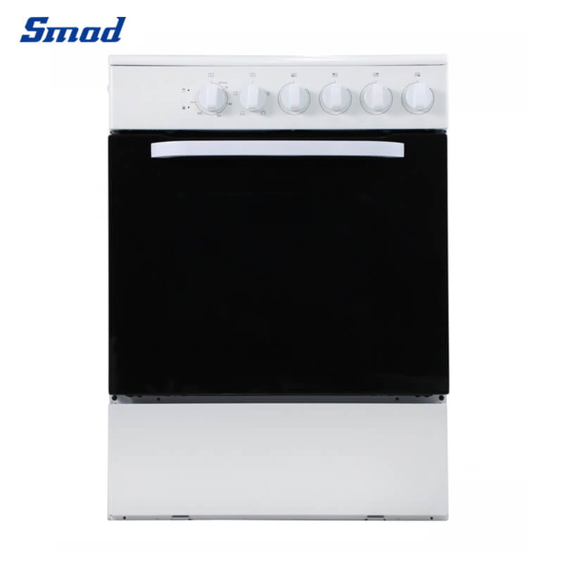 Smad freestanding oven with 4 gas burners with grill and oven outlook