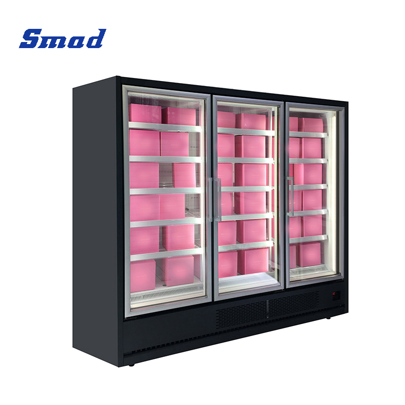 Smad commercial upright showcase automatic defrost